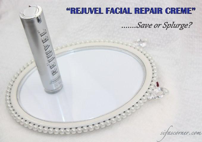 REVIEW: Rejuvel Facial Repair Creme*