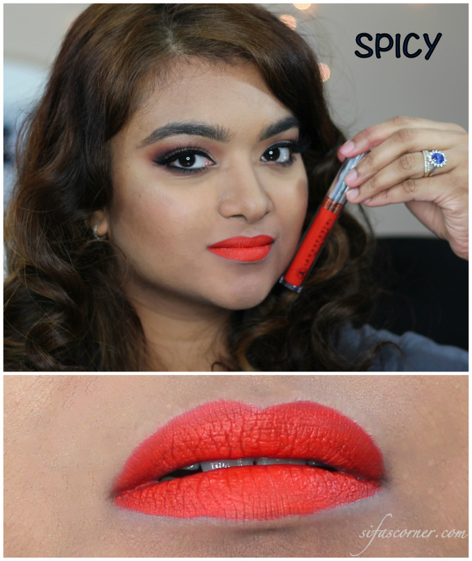 spicy swatch Collage