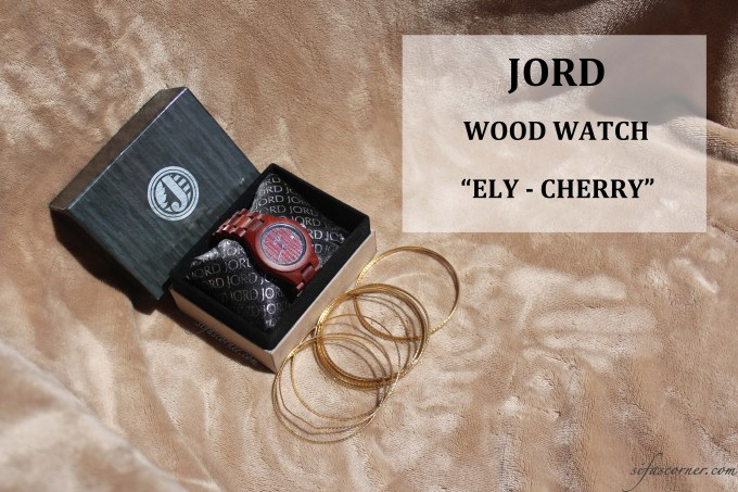 My Current Accessory Love: JORD WOOD WATCH