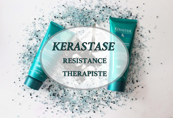 FIRST IMPRESSION & REVIEW: Kérastase Résistance Thérapiste Hair products