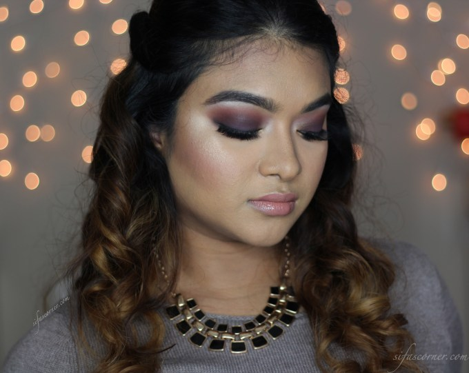 """TUTORIAL: Glam Holiday Makeup with Too Faced """"STARDUST"""" Palette"""