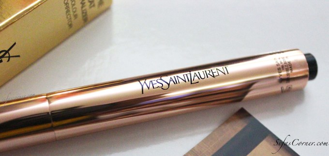 REVIEW: Yves Saint Laurent TOUCHE ECLAT Neutralizer- Abricot Bisque