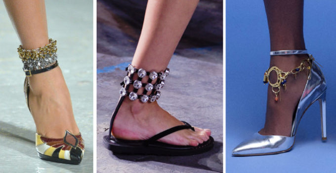 ankle jewellery