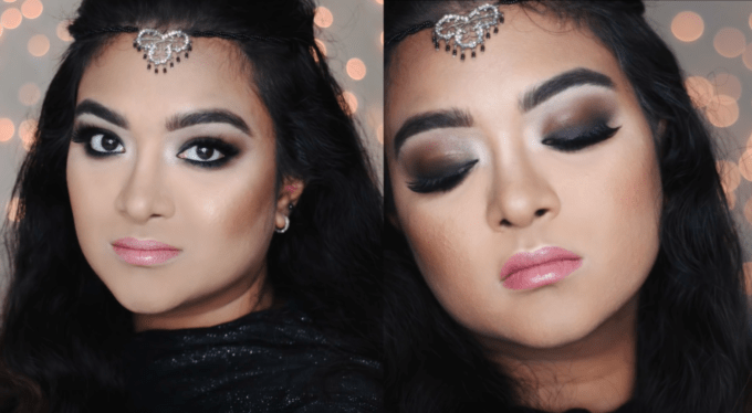 Dramatic Glossy Brown Smokey Eye ft. Inglot Cosmetics