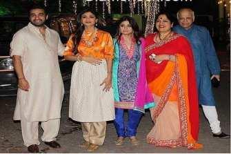 Shilpa Shetty Family Photo