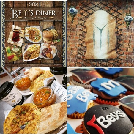 Bey's Diner, an Ertugrul themed cafe in UK