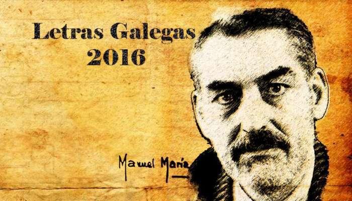 Manuel María - Letras Galegas