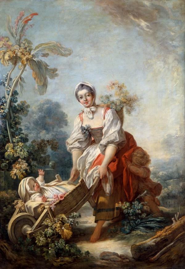 Jean-Honore Fragonard Paintings