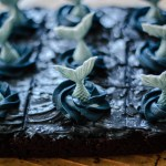 Harry Potter gluten free brownie recipes on parchment paper