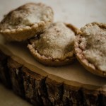 Gluten Free Mincemeat Pies recipe Harry Potter inspired stacked