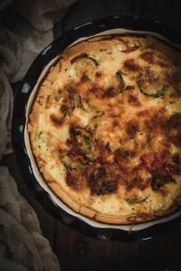 A Summer Speciality: A Recipe for Zucchini Quiche