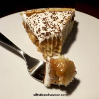BANOFFEE (BANANA TOFFEE) PIE- Vegan, Gluten-Free, Refined Sugar-Free & Oil-Free