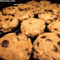 CHOCOLATE CHIP COOKIES- Vegan, Gluten-Free, Refined Sugar-Free & Oil-Free
