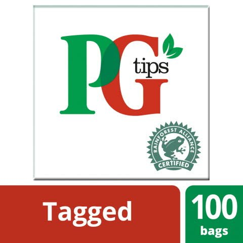 pg tips 100 tagged
