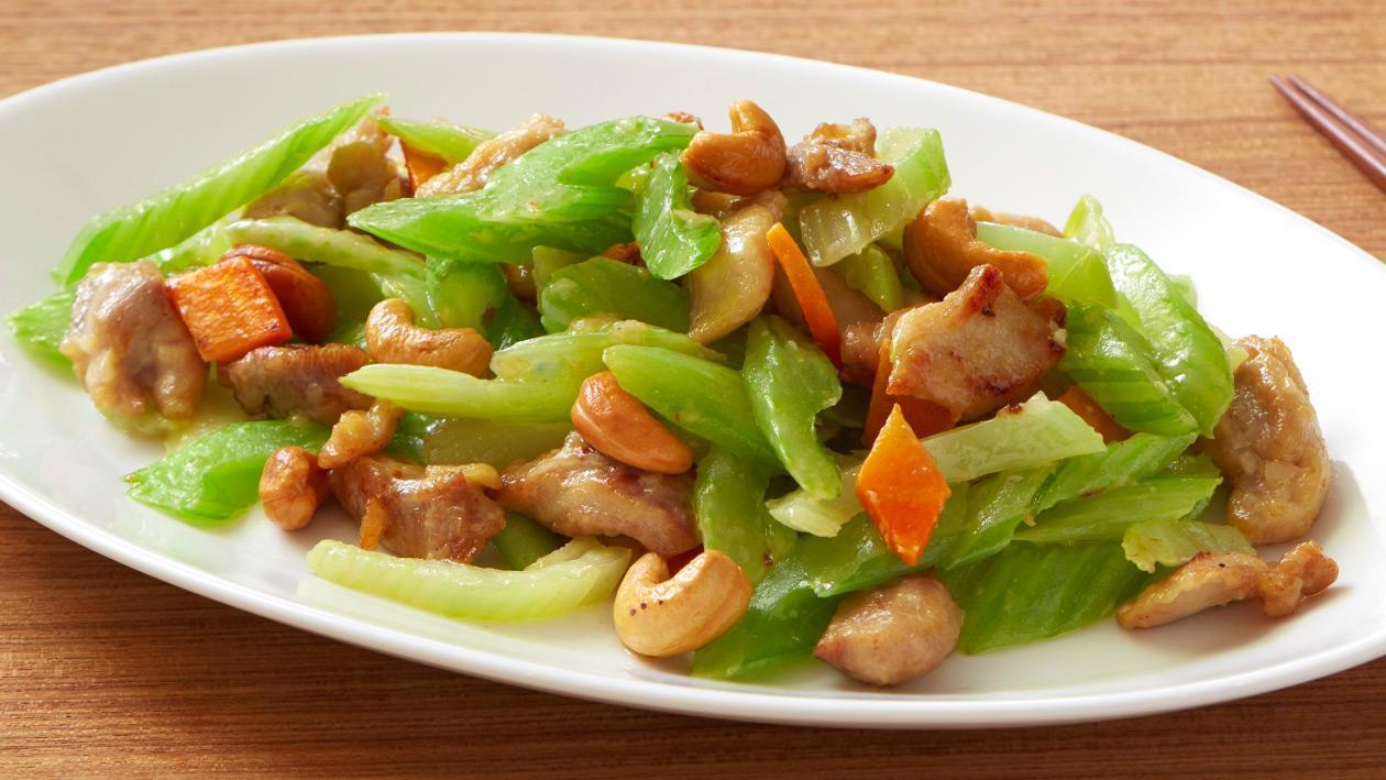 西芹炒雞柳 – 食譜詳情 | Unilever Food Solutions
