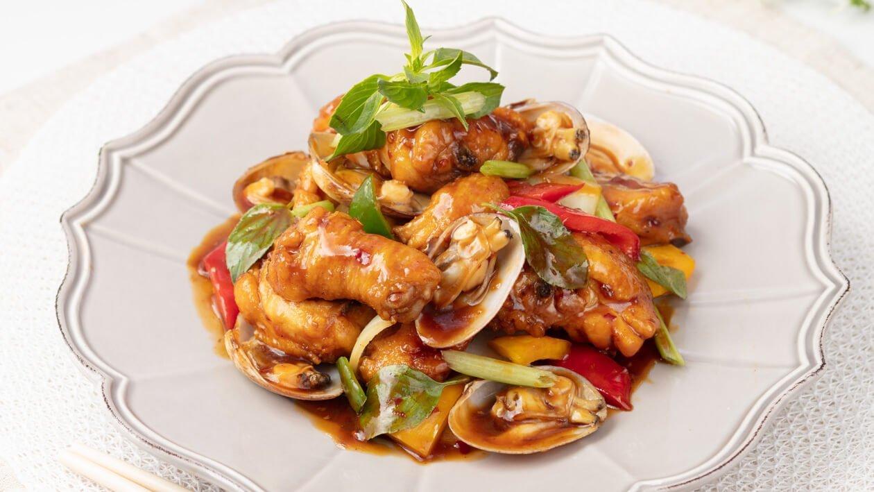 鮮辣蜆肉煮雞球 – 食譜詳情 | Unilever Food Solutions