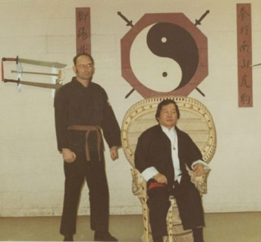Sifu Allen with Ong 1972