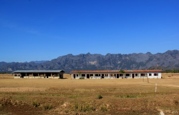 school at a village our Lak Sao