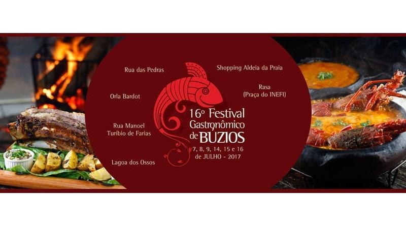 16 Festival Gastronomico de Buzios