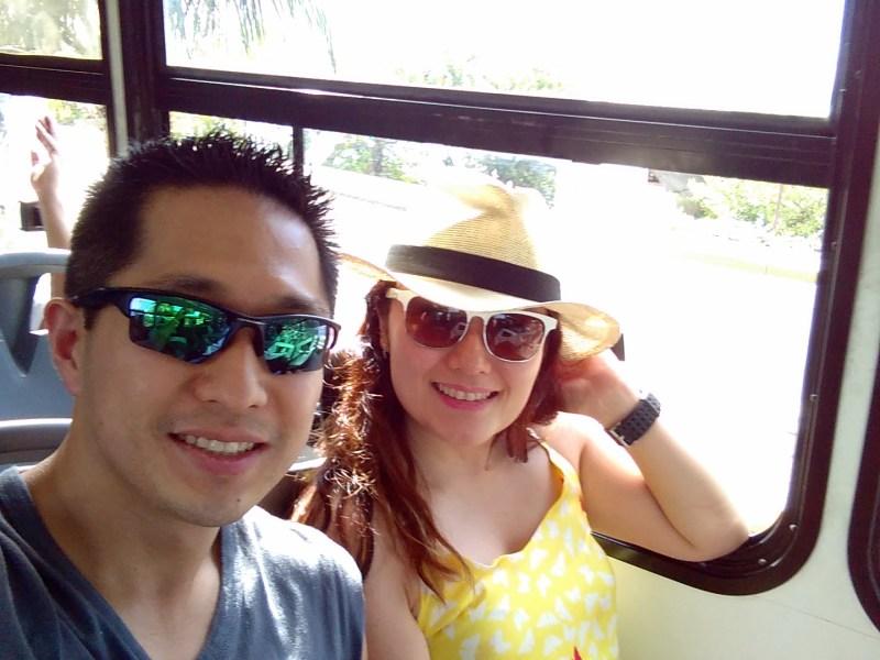 Siga na Viagem - Chegada a Cancun, Shopping Las Americas e Walmart - No onibus em Cancun