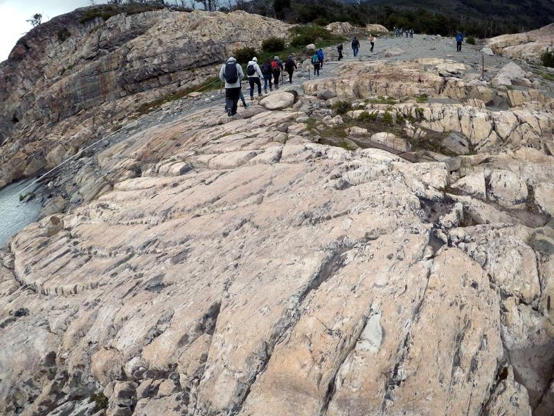 Siga na Viagem - Minitrekking sobre o Glaciar Perito Moreno - Desembarque