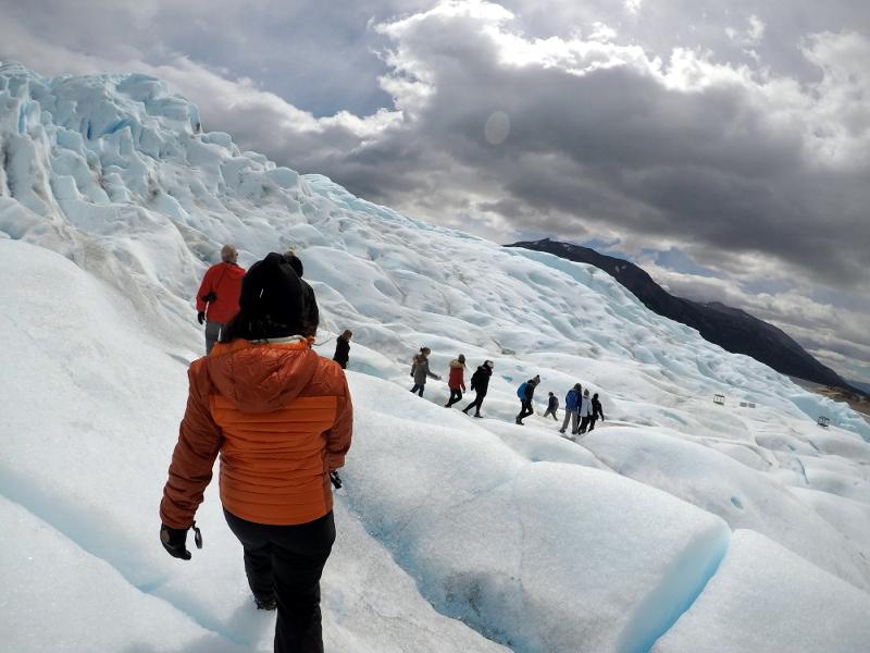 Siga na Viagem - Minitrekking sobre o Glaciar Perito Moreno - Minitrekking no Glaciar