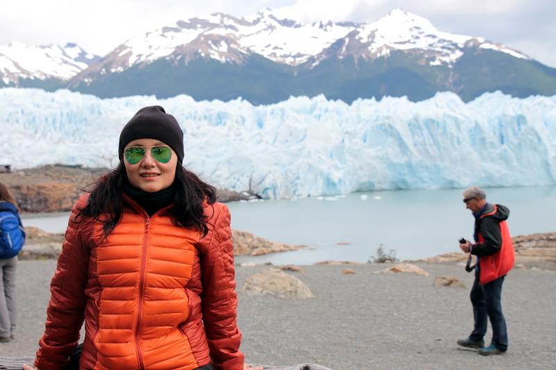 Siga na Viagem - Minitrekking sobre o Glaciar Perito Moreno - Próximo da base do glaciar