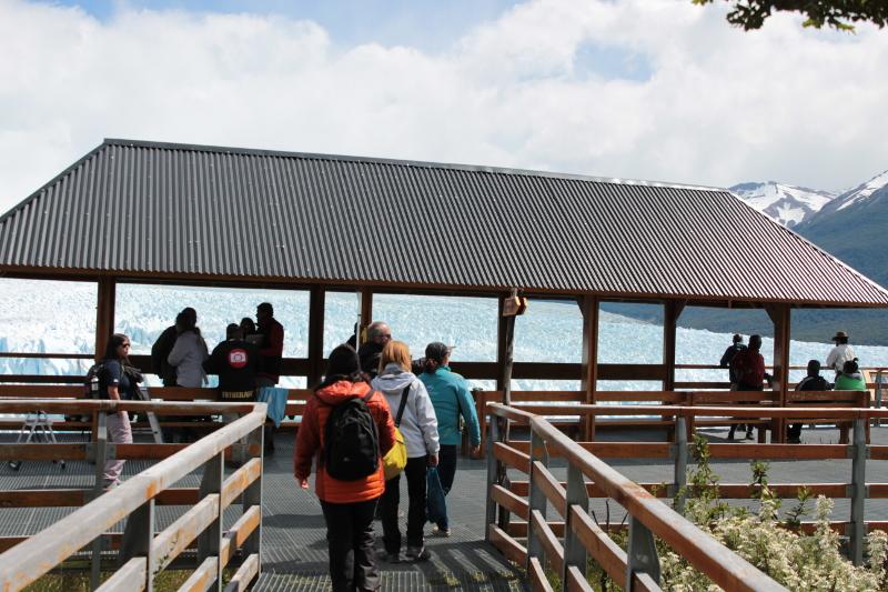 Siga na Viagem - Glaciar Perito Moreno - Acesso às passarelas