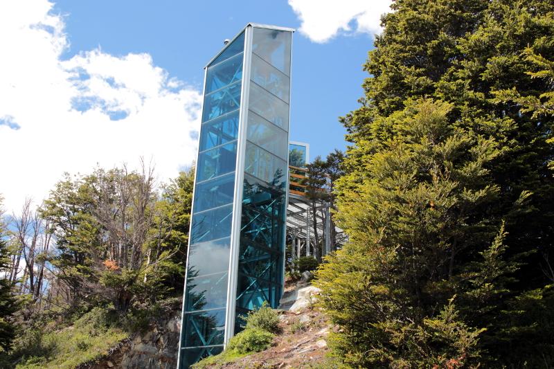 Siga na Viagem - Glaciar Perito Moreno - Elevador de acesso às passarelas