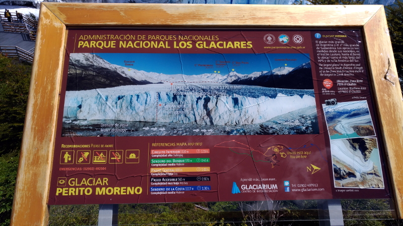 Siga na Viagem -Glaciar Perito Moreno - Parque Nacional Los Glaciares