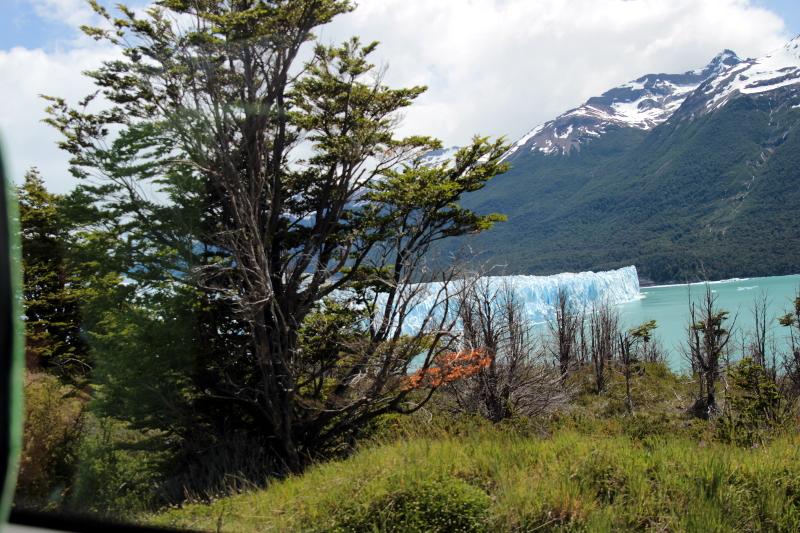 Siga na Viagem - Glaciar Perito Moreno - Vista do Glaciar Perito Moreno