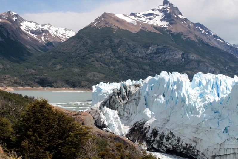 Siga na Viagem - Glaciar Perito Moreno - Vista do Glaciar Perito Moreno pelas passarelas