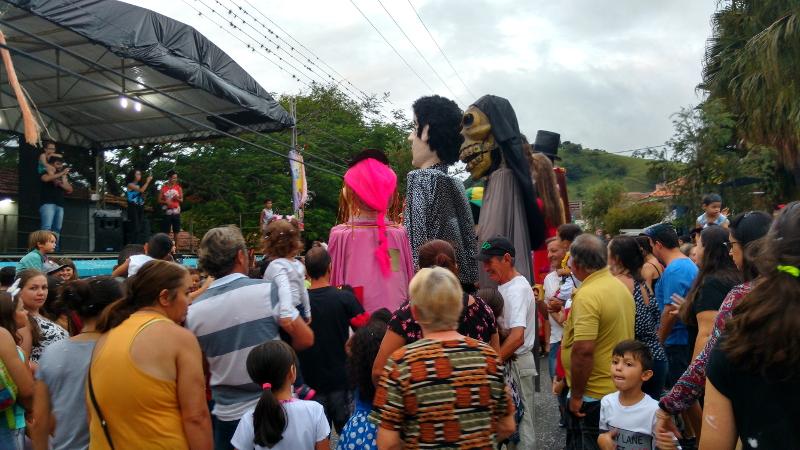 Siga na Viagem - I Encontro dos Bonecos Gigantes - Apresentação dos bonecos