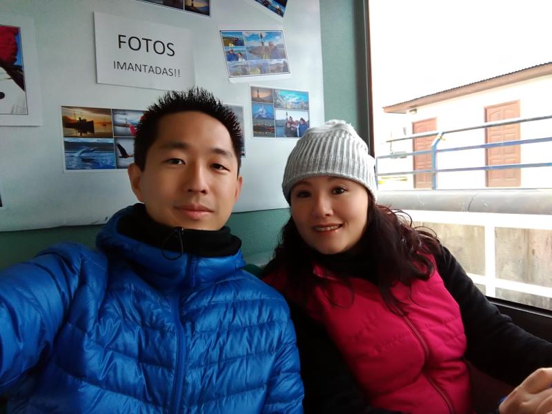 Siga na Viagem - Passeio pelo Canal de Beagle em Ushuaia - Área interna da embarcação.
