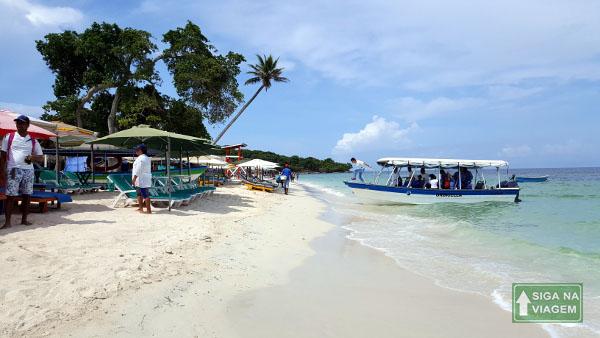 Siga na Viagem - O que fazer em Cartagena e San Andrés - Playa Blanca