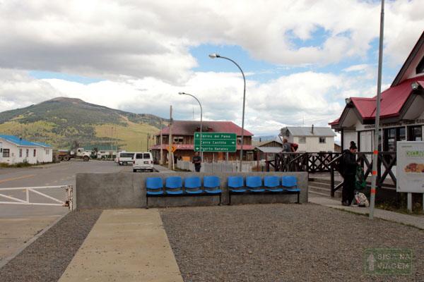 Siga na Viagem - Tour no Parque Nacional Torres Del Paine - Caminho para o Parque.