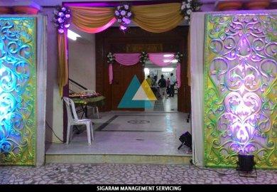 Wedding Reception Entrance Decor