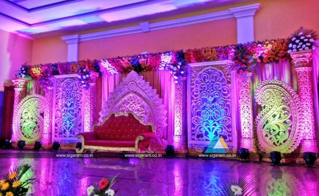 Reception And Wedding Decoration Shri Lalitha Mahal