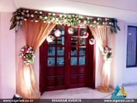 Wedding and Reception Door Entrance Decorations in