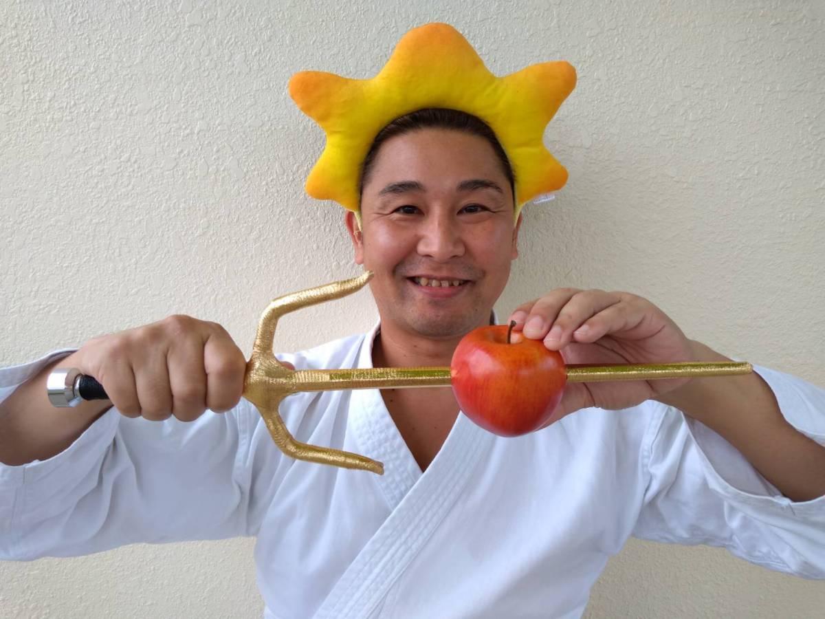 【空手】リンゴにサイを刺すYouTube