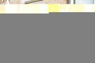 Archbishop of York and Headteacher outside the school