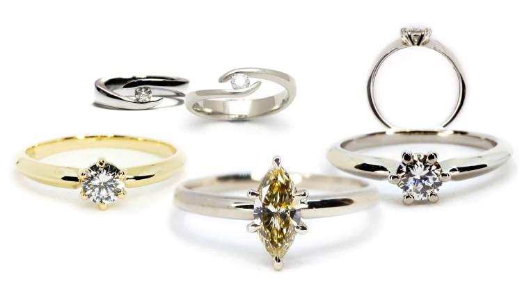 Verlobungsring Antragsring Diamantring Schmuck Siggnatur Goldschmied Duesseldorf