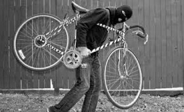 Bicicleta furata in Sighisoara!