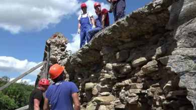 Photo of CAMPANIE ELECTORALA: S-au finalizat  lucrările de refacere a porțiunii de zid prăbușit, din Cetatea Sighișoara.