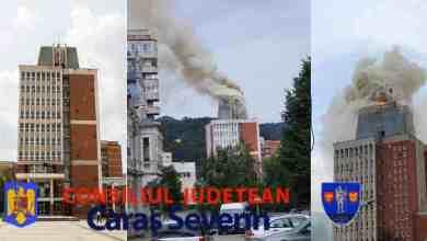 Photo of Incendiu de proporții la Consiliul Județean Caraș-Severin VIDEO