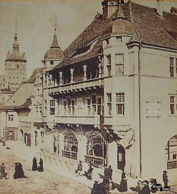 Fosta casă a meseriașilor – 1906