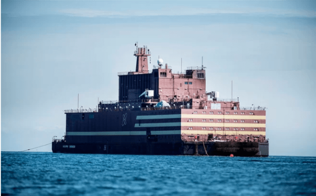 Russia's Floating Nuclear Power Plant Heads for the Bering Strait