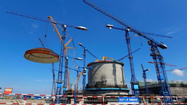 China upgrades nuclear reactors to wean itself off coal
