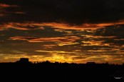 31Dec09: Sunset Over Sydney Skyline