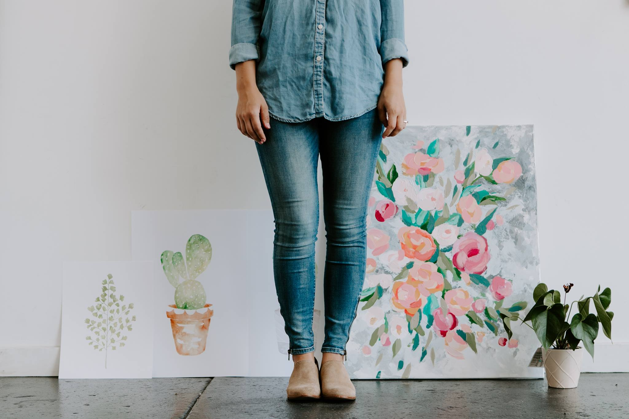springfield missouri lifestyle watercolor studio artist